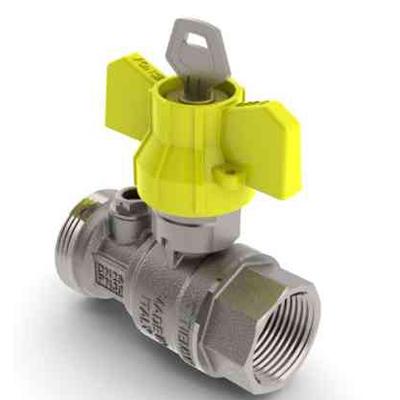 Robinet de gaz pentru instalare post-control - PCONT01SER TIEMME - Poza 2