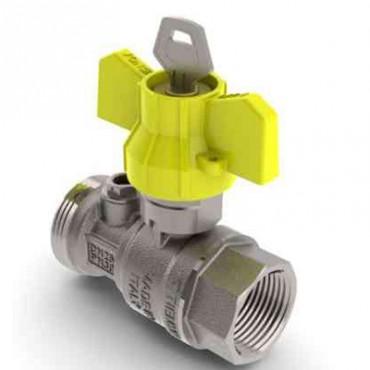 Prezentare produs Robinet de gaz pentru instalare post-control - PCONT01SER TIEMME - Poza 2