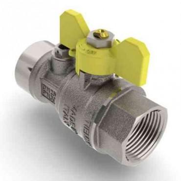 Prezentare produs Robinet de gaz pentru instalare post-control - PCONT02 TIEMME - Poza 3