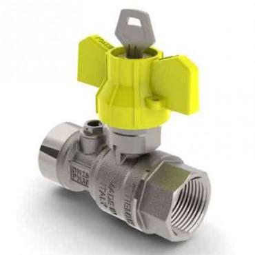 Prezentare produs Robinet de gaz pentru instalare post-control - PCONT02SER TIEMME - Poza 4