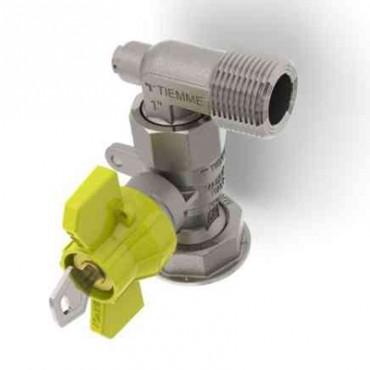 Prezentare produs Robinet de gaz pentru instalare post-control - PCONT03SER TIEMME - Poza 6