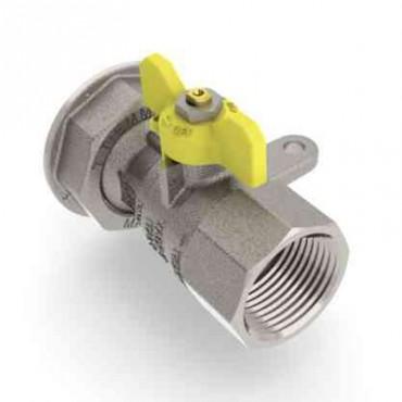 Prezentare produs Robinet de gaz pentru instalare post-control - PCONT04 TIEMME - Poza 7