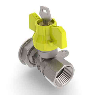 Robinet de gaz pentru instalare post-control - PCONT04SER TIEMME - Poza 8