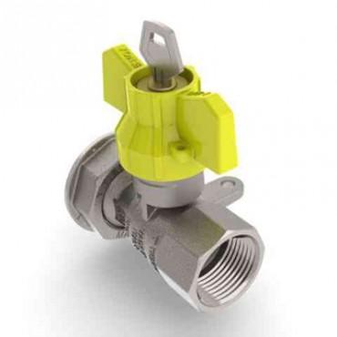 Prezentare produs Robinet de gaz pentru instalare post-control - PCONT04SER TIEMME - Poza 8