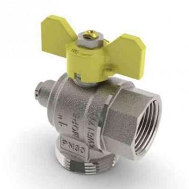 Prezentare produs Robinet de gaz pentru instalare post-control - PCONT05 TIEMME - Poza 9