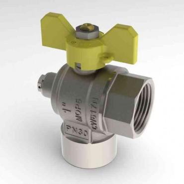 Prezentare produs Robinet de gaz pentru instalare post-control - PCONT07 TIEMME - Poza 11