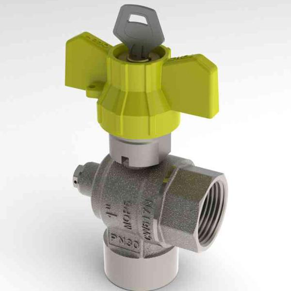 Robinet de gaz pentru instalare post-control - PCONT07SER TIEMME - Poza 12