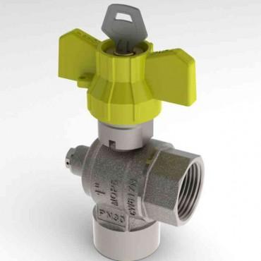 Prezentare produs Robinet de gaz pentru instalare post-control - PCONT07SER TIEMME - Poza 12