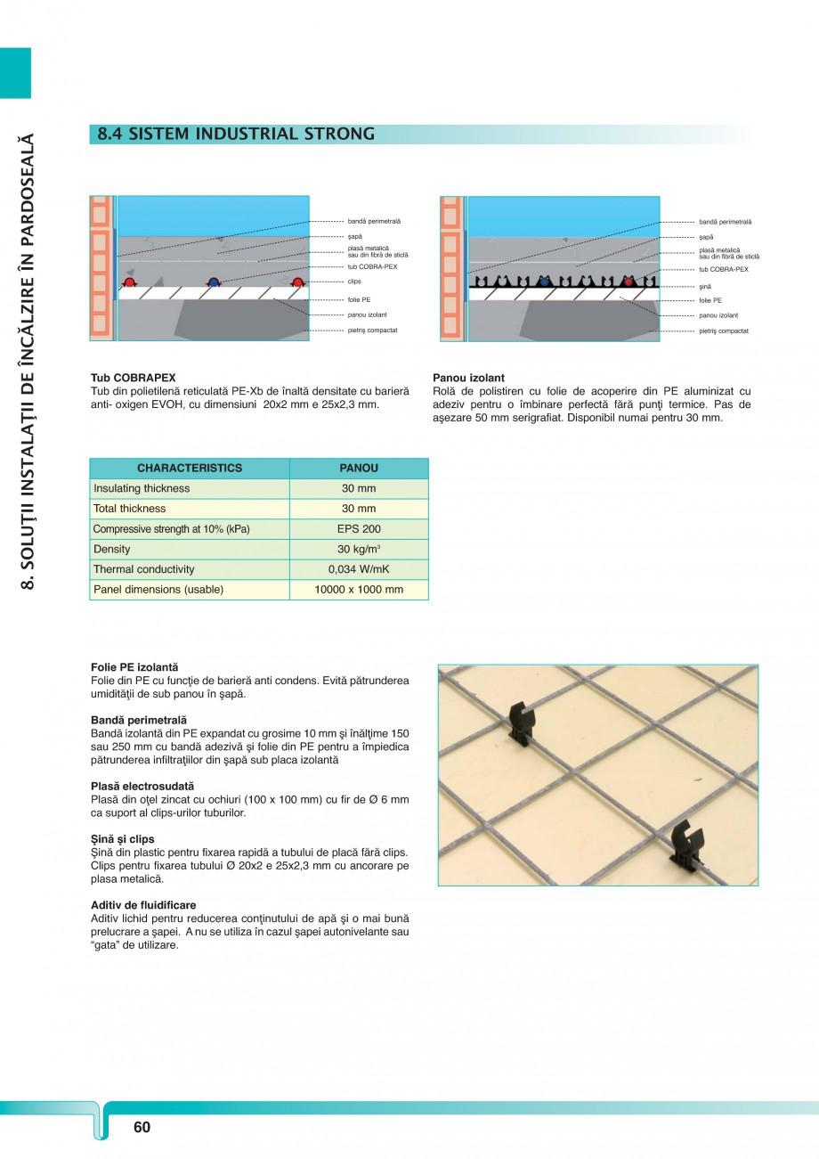 Pagina 1 - Sistem industrial de incalzire in pardoseala TIEMME STRONG Fisa tehnica Romana 8....