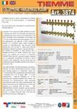 Cuplu de colectoare modulare din alama - Industrial Floor 3874 TIEMME -