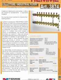 Cuplu de colectoare modulare din alama - Industrial Floor 3874