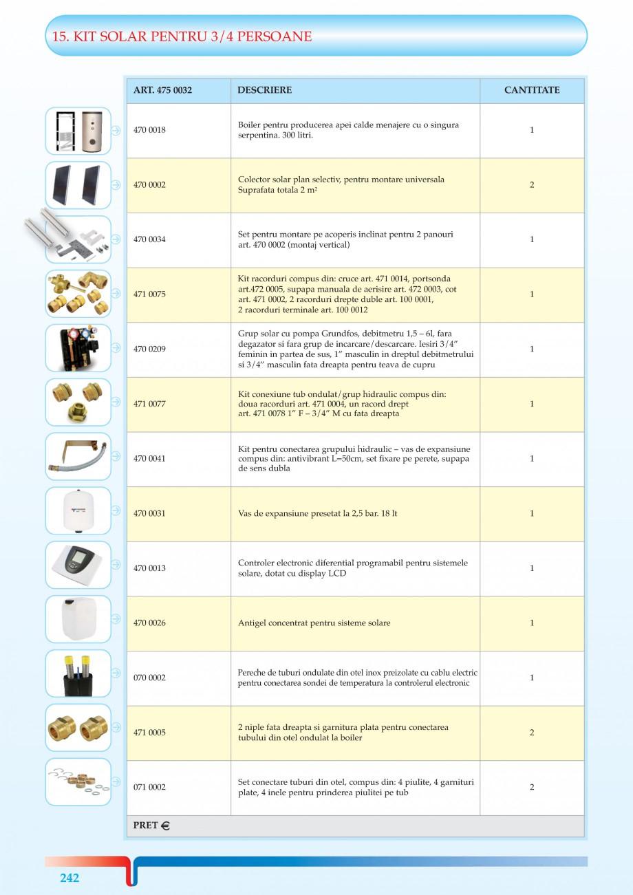 Pagina 3 - KIT-uri solare pentru 1-2 sau 3-4 Persoane TIEMME Kit Solar 1/2 Persoane, Kit Solar 3/4...