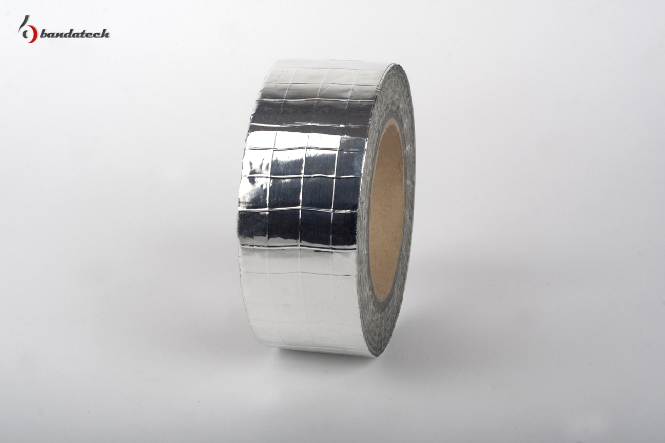 Banda adeziva din aluminiu ranforsat BANDATECH - Poza 1