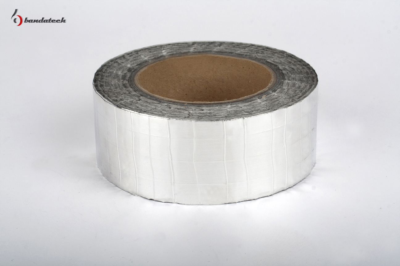 Banda adeziva din aluminiu ranforsat BANDATECH - Poza 4