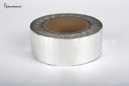 Rola banda adeziva din aluminiu ranforsat - orizontal Banda adeziva din aluminiu ranforsat