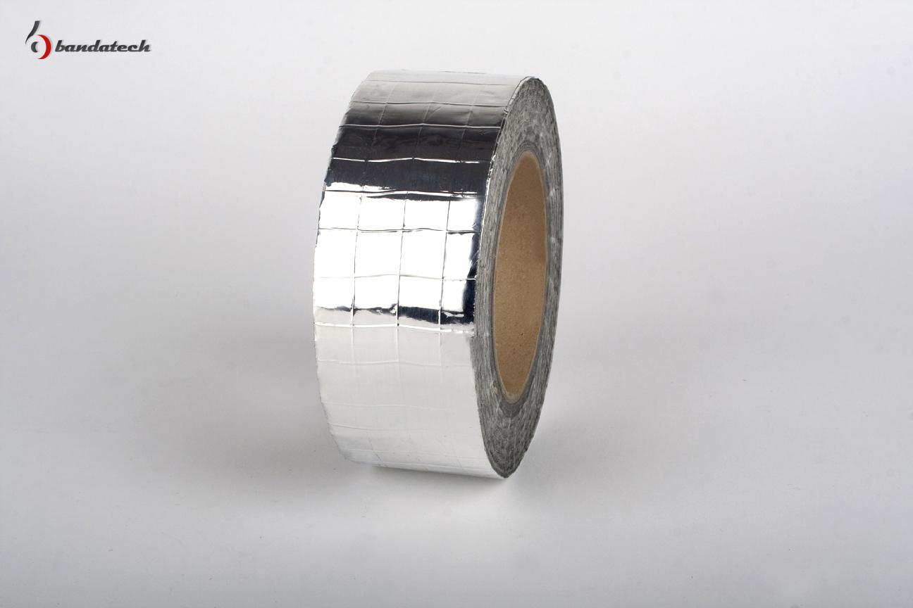 Banda adeziva din aluminiu ranforsat BANDATECH - Poza 5
