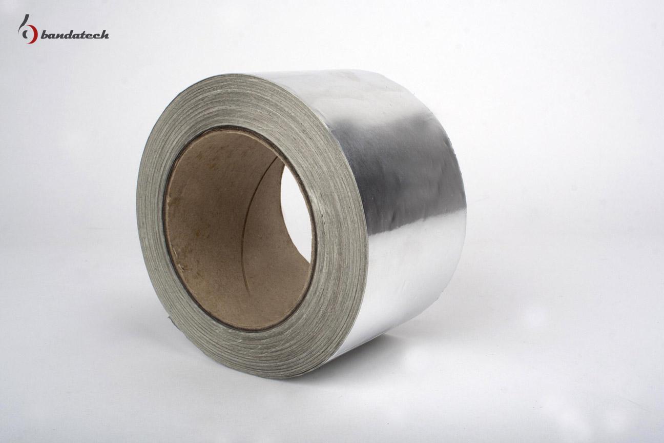 Banda adeziva din aluminiu neted BANDATECH - Poza 1