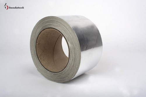 Prezentare produs Banda adeziva din aluminiu neted BANDATECH - Poza 1