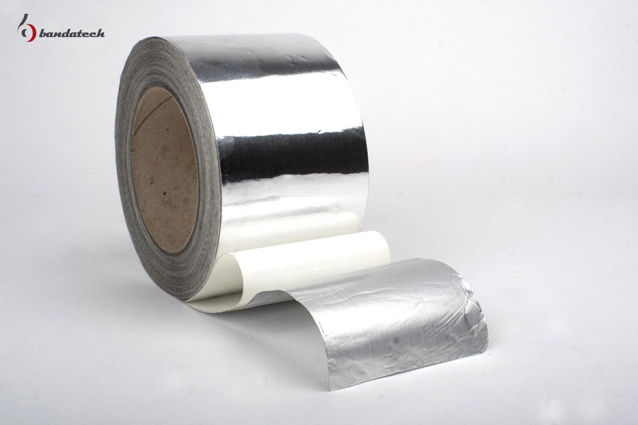 Banda adeziva din aluminiu neted BANDATECH - Poza 2