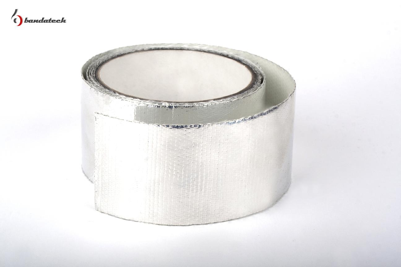 Banda adeziva din aluminiu gofrat BANDATECH - Poza 2