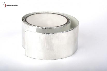 Rola banda adeziva din aluminiu gofrat  Banda adeziva din aluminiu gofrat