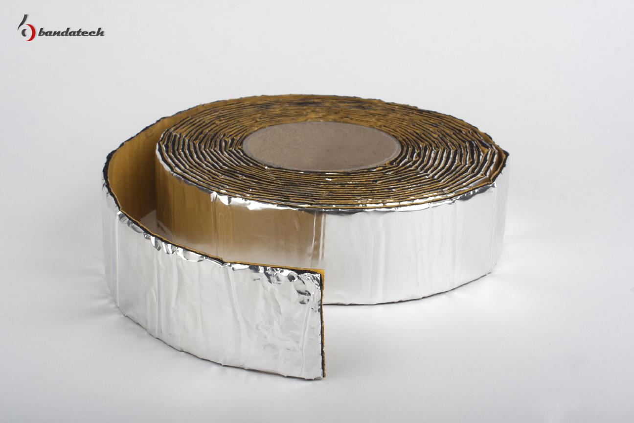 Banda adeziva anticondens din cauciuc elastomeric expandat cu aluminiu BANDATECH - Poza 7