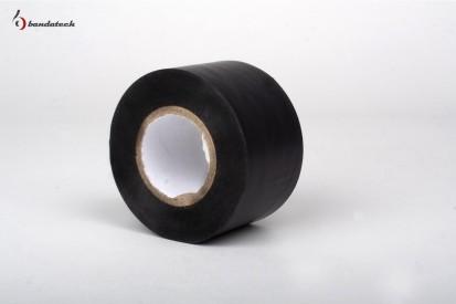 Rola banda adeziva electroizolatoare din PVC - neagra Banda adeziva din PVC electroizolatoare
