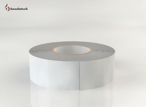 Prezentare produs Banda adeziva din polietilena de culoare alba BANDATECH - Poza 6