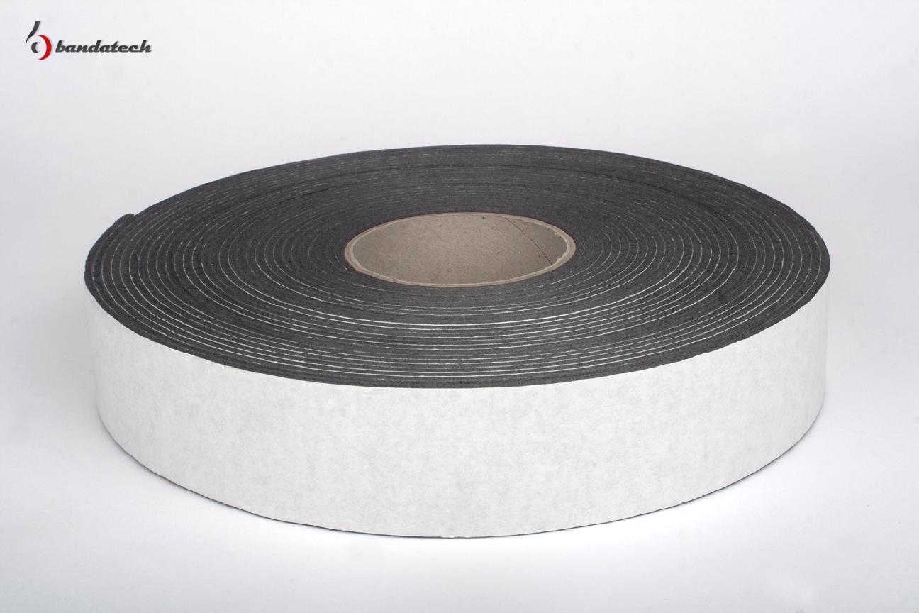 Banda adeziva din polietilena de culoare gri BANDATECH - Poza 1