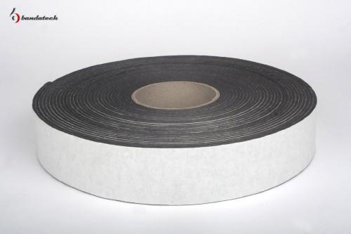 Prezentare produs Banda adeziva din polietilena de culoare gri BANDATECH - Poza 1