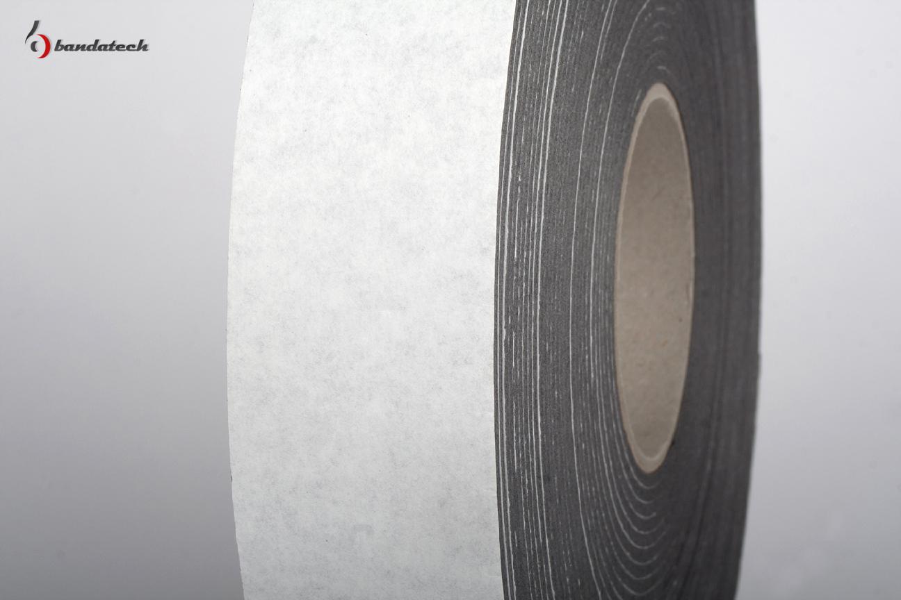 Banda adeziva din polietilena de culoare gri BANDATECH - Poza 2