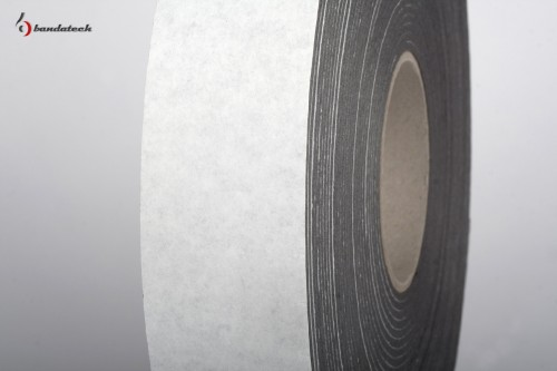 Prezentare produs Banda adeziva din polietilena de culoare gri BANDATECH - Poza 2