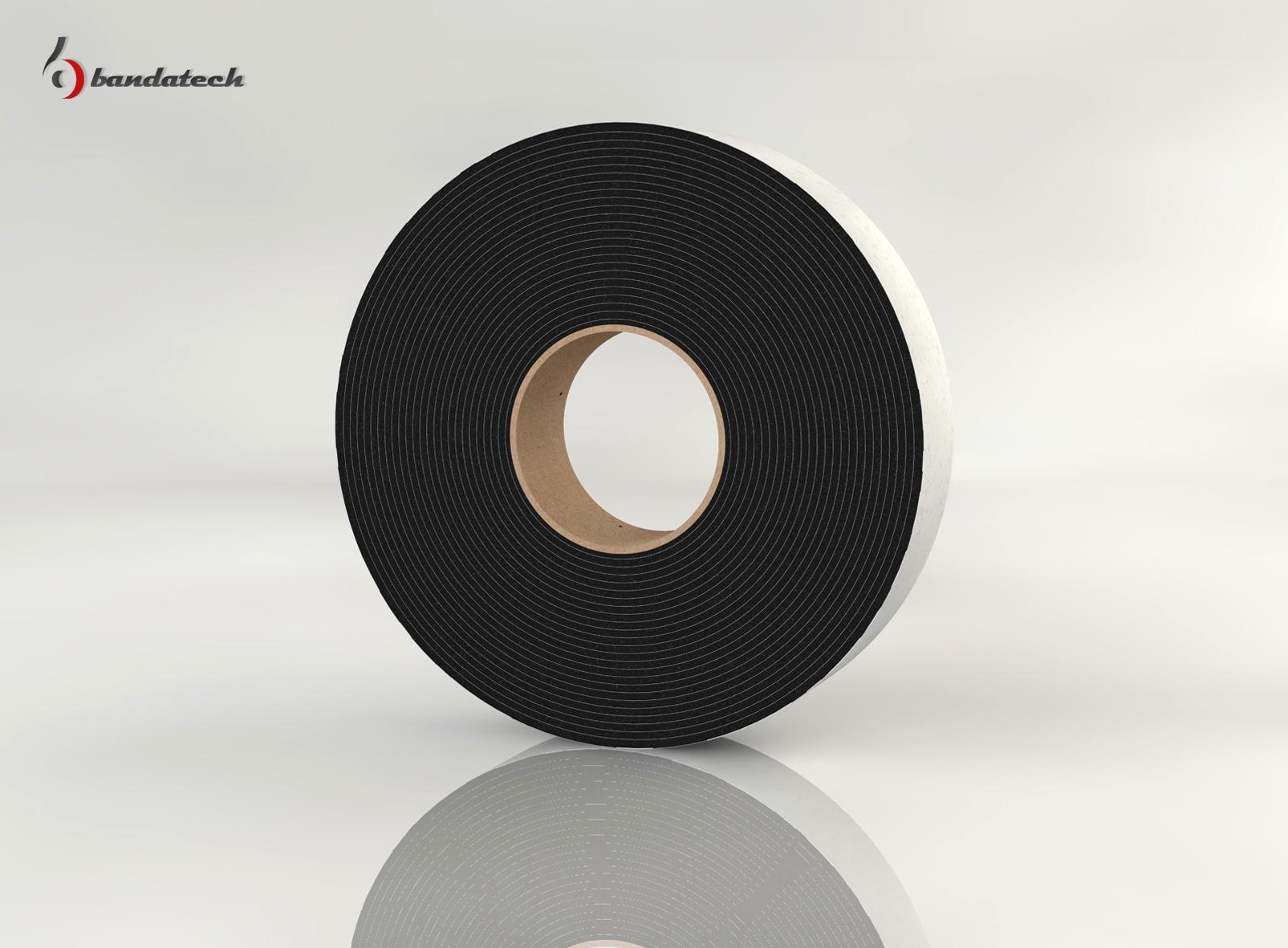 Banda adeziva din polietilena de culoare gri BANDATECH - Poza 5