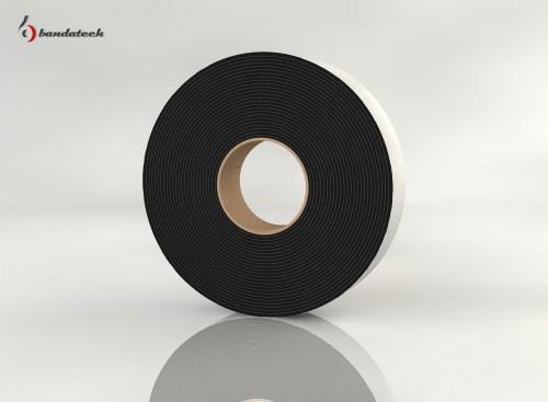 Prezentare produs Banda adeziva din polietilena de culoare gri BANDATECH - Poza 5