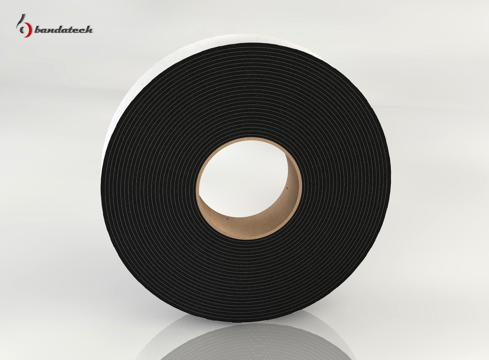 Banda adeziva din polietilena de culoare gri BANDATECH - Poza 6