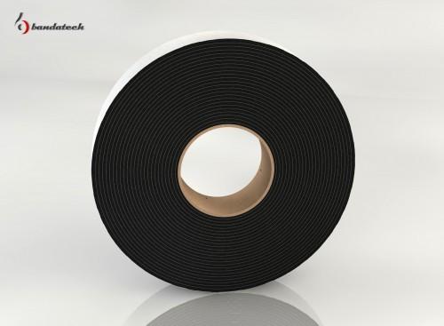 Prezentare produs Banda adeziva din polietilena de culoare gri BANDATECH - Poza 6