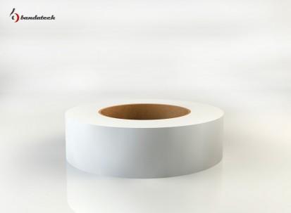 Rola banda adeziva din PVC cu insertie textila AMERICAT TAPE - alba orizontal Banda adeziva din