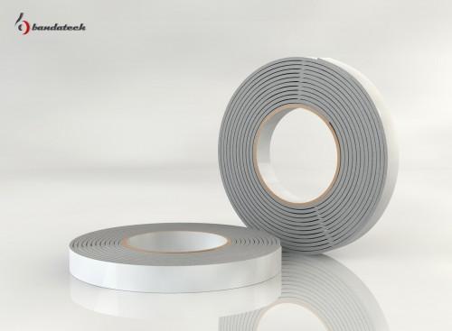 Prezentare produs Garnituri adezive din polietilena de culoare gri BANDATECH - Poza 2