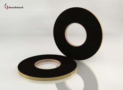 Garnitura adeziva din EPDM de culoare neagra - lateral Garnituri adezive din EPDM