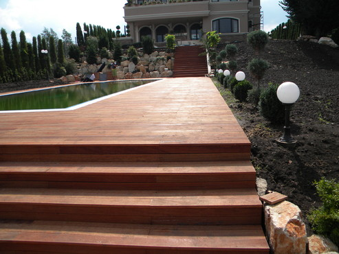 Lucrari de referinta Deck-uri lemn - Angelim Pedra SELVA FLOORS - Poza 63