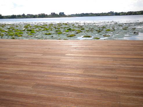 Lucrari de referinta Deck-uri lemn - Angelim Pedra SELVA FLOORS - Poza 91