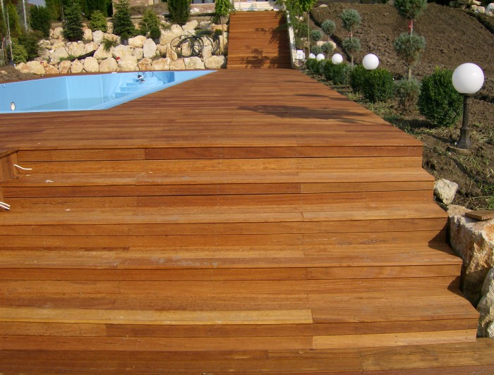 Deck-uri lemn - Angelim Pedra SELVA FLOORS - Poza 1