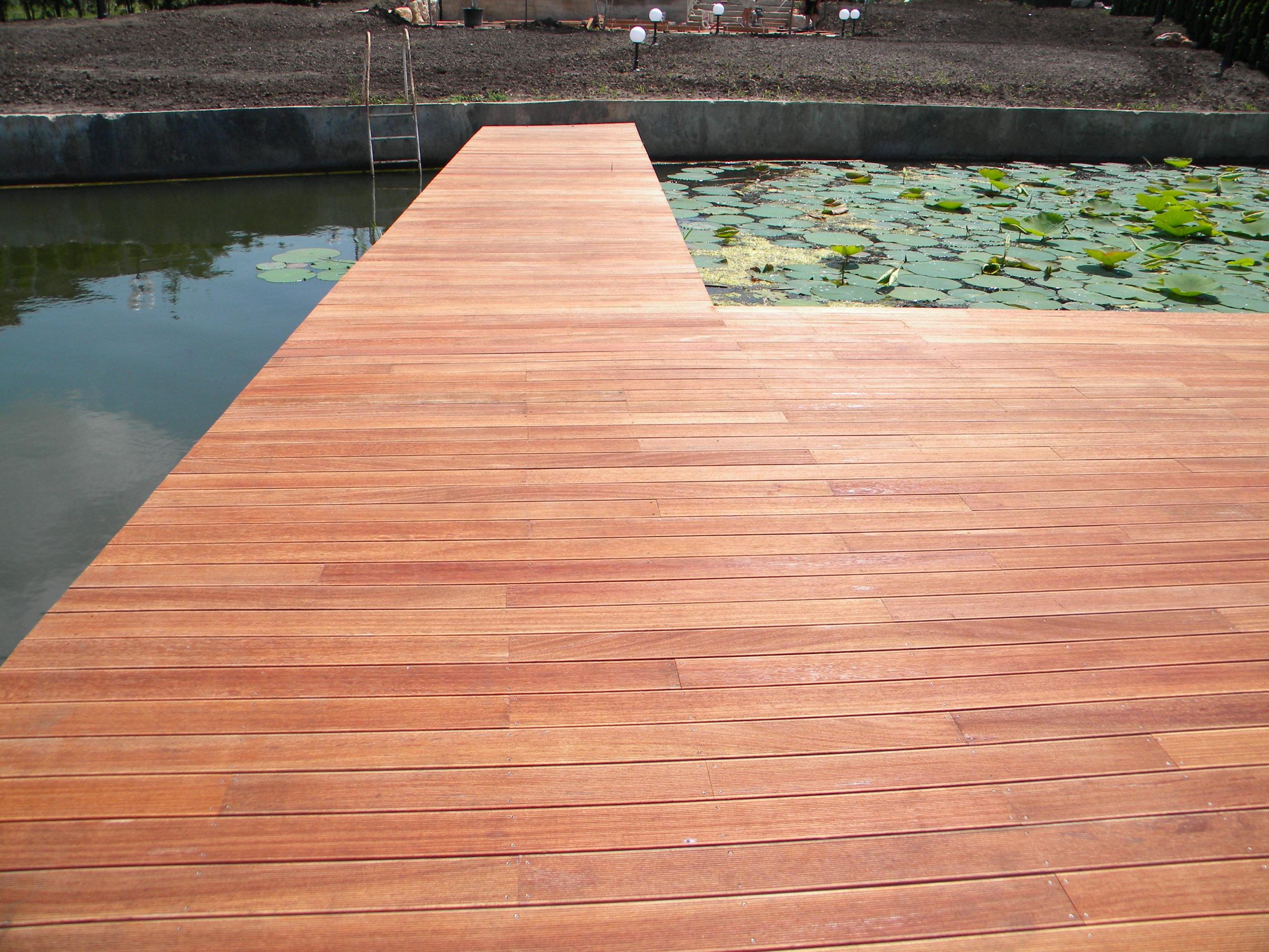 Deck-uri lemn - Angelim Pedra SELVA FLOORS - Poza 4