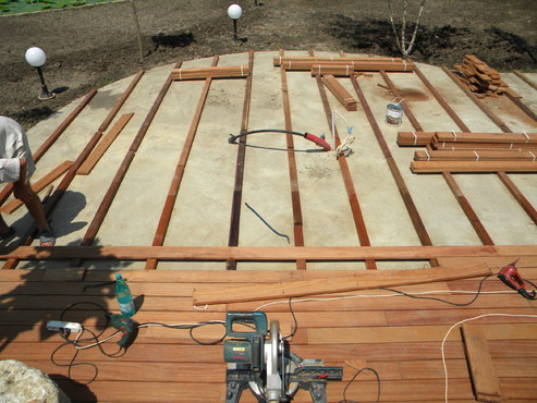 Lucrari de referinta Deck-uri lemn - Angelim Pedra SELVA FLOORS - Poza 40