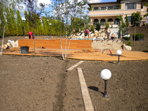 Lucrari de referinta Deck-uri lemn - Angelim Pedra SELVA FLOORS - Poza 26