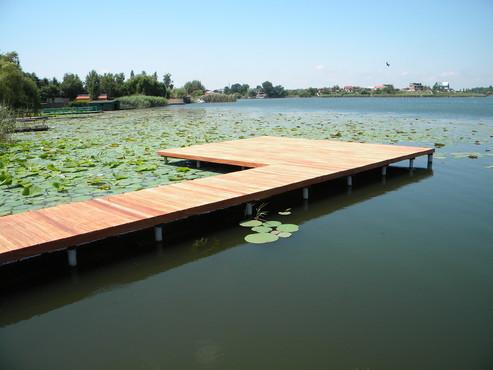 Lucrari de referinta Deck-uri lemn - Angelim Pedra SELVA FLOORS - Poza 29