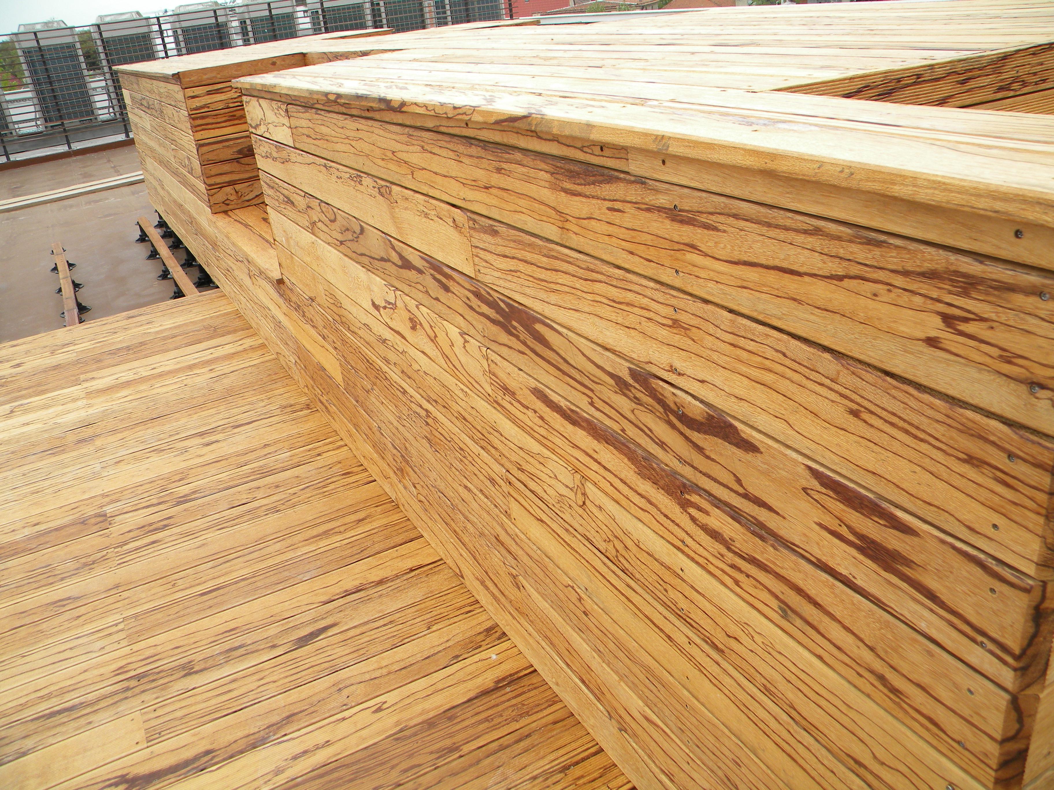 Deck-uri lemn - Angelim Rajado SELVA FLOORS - Poza 37