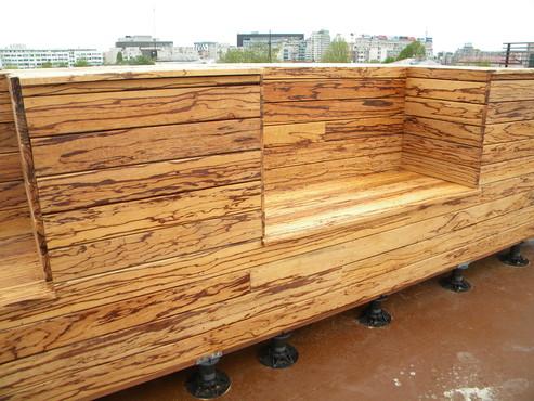 Deck-uri lemn - Angelim Rajado SELVA FLOORS - Poza 35