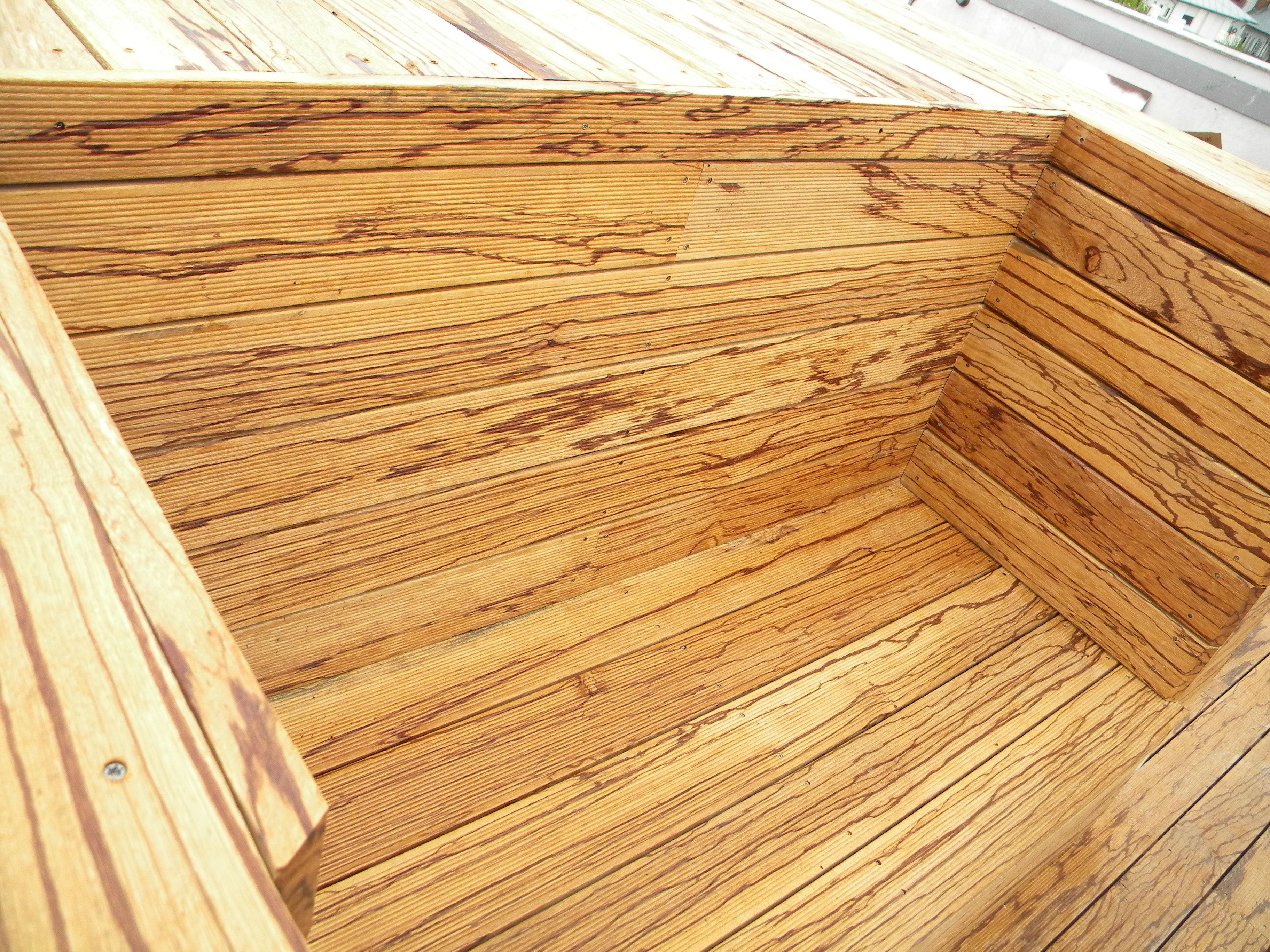 Deck-uri lemn - Angelim Rajado SELVA FLOORS - Poza 33