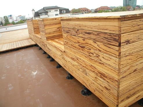 Lucrari de referinta Deck-uri lemn - Angelim Rajado SELVA FLOORS - Poza 28